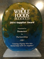 Whole Foods Market 2015 Supplier Awards