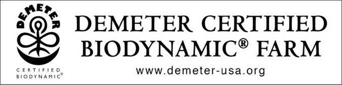 Demeter Certified Biodynamic Farm