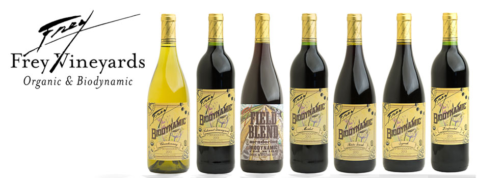 Frey Vineyards Biodynamic Wines