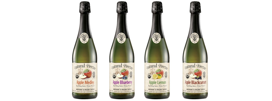 Natural Nectar Biodynamic Sparkling Fruit Juices