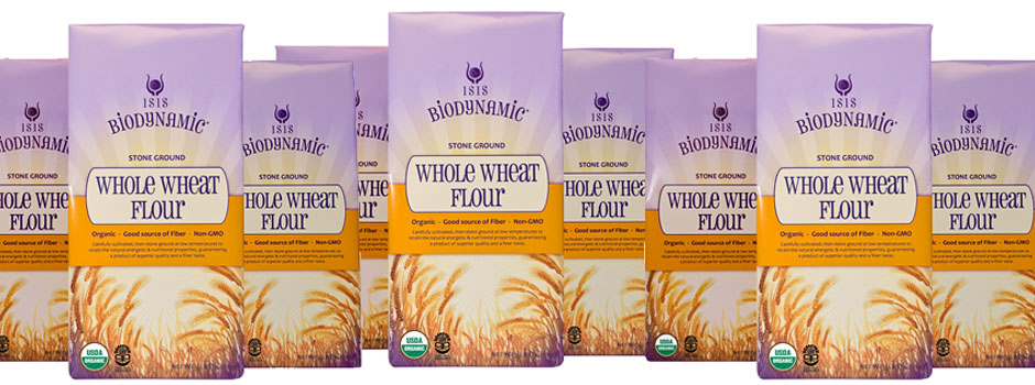 Isis Biodynamic Stone Ground Wheat Flour