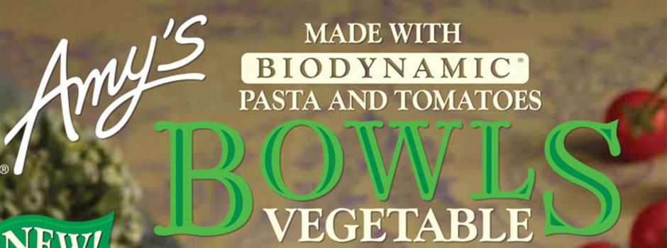 Amy's Kitchen Biodynamic Pasta Bowl