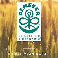 Demeter Biodynamic 'Highly Meaningful' seal